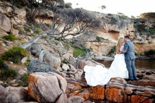beach wedding bunker bay dunsborough